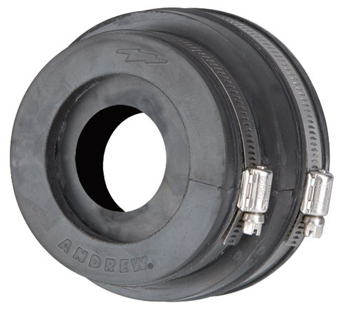 204679A-2 Boot Assembly, 4 in, for 7/8 in corrugated coaxial cable  Dimensions Nominal Size 7/8 in Height 101 60, Andrew