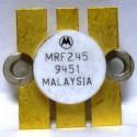 MRF245 Transistor, Matched Pair, NPN silicon RF Power Transistor, 80 Watt, 12 volt, 175 MHz,  Motorola
