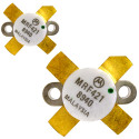 MRF421MP-MOT NPN Silicon Power Transistor, Matched Pair, 100 W (PEP), 30 MHz, 12 V, Motorola