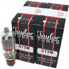 572B  Transmitting Tube, Set of 4 Matched, Taylor
