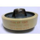 57-100-10 Doorknob Capacitor 100pf 10kv, UTC (Clean Used)