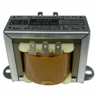 671125  Low voltage transformer, 117VAC - 60cps 12.6vct, 2.5 amp, (67-1125), CES