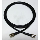 8XBMBM-5 Pre-Made Cable Assembly, 5 foot RG8X with BNC Male