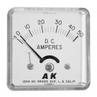 DCAM50 Panel meter, Panel meter, DC Amperes, 50 amps
