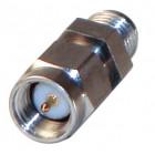 P2RSA-3705-1 In Series Precision adapter, SMA Male to SMA Female w/Hex Center, RFP2