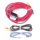 RD223  Pioneer® Amplifier Wire Kit, Dual 10 AWG Wire with 3 Fused Links
