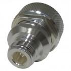 RFD1671-2  Between Series Adapter, 7/16 Din Male to Type-N Female, RF Industries