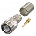 RFT1202-I TNC Male Crimp, Connector, Cable Group: I,  RF Industries