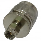 RSA3453 Between Series Adapter, SMA Male to Type-N Male, Straight, RFI