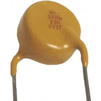0005-10KVHDB   High Voltage Capacitor, .0005uf / 10KV, Radial Lead