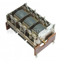 0121-0018 RYC Variable Capacitor 3 Sections 20-625pf