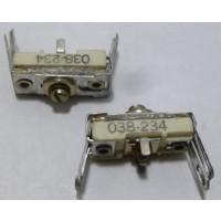 038-234  Trimmer Capacitor, compression mica 160-530 pf.