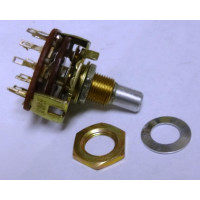 10YX034 Rotary Switch, 3 pole, 4 position