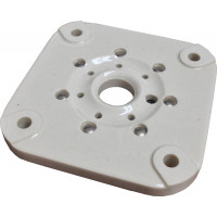 122-0247-P Johnson flat ceramic, 7 pin, Military grade, Removed from working equipment, excellent condition.