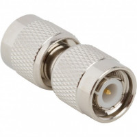 122350 IN Series Adapter, TNC Male to TNC Male Barrel, Amphenol