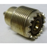 131-081  UHF Female Bulkhead Chassis Connector, (SO239) Replacement for Tektronix 530/540