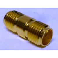 132169  IN Series Adapter, SMA Female to SMA Female, Barrel, Amphenol