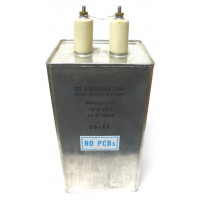 160-1253  1uf 15kvdc Oil Filled Capacitor, Del Elec