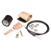 "204989-1  1/2"" Standard Grounding Kit, One Hole Factory Attached Lug, Andrew"