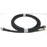 214MILNMNM-2  Cable Assembly, 2 Foot RG214MILC17 with Type-N Male