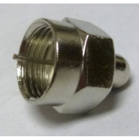 222154 F Male Dummy Load, 1/8 watt, 1%, Amphenol