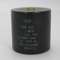 29215B104J00, Capacitance .1mfd, Voltage 1.5kv, Amps 39