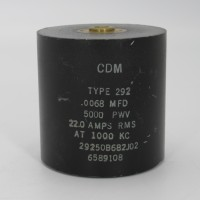 29250B682J02, Capacitance 6800pf, Voltage 5kv, Amps 22