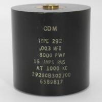 29280B302J00,29280B302J00, Capacitance .003mfd, Voltage 8kv, Amps 16