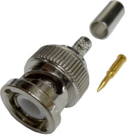 31-320-RFX  BNC Male Crimp Connector, Cable Group C, Amphenol