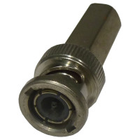 31-5138  BNC Male SureTwist Connector, 75 ohm, Cable Group D, Amphenol