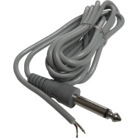 """38-167 1/4"""" Phone Plug w/6ft cable & Tinned leads"""