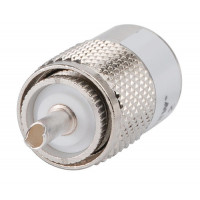 41SP UHF Male Connector, FSJ1-50,  Andrew
