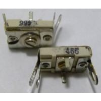 466 Trimmer, compression mica, 105-480 pF
