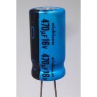 RAD470-16 Capacitor, 470uf 16v, Nichicon
