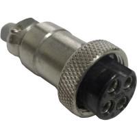 4PINMICPLUG-P - 4 Pin Microphone Plug (Clean Used)