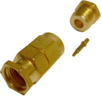 50-607-5507-319 - SMA Male Clamp Connector, Cable Group: B, SEAL
