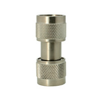 5004 In Series Precision Adapter, Type-N Male to N Male Barrel, DC-18 GHz, API/Inmet