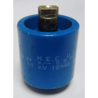 570008-15P  Capacitor, Doorknob 8pf 15kv, MEC (Clean Used)
