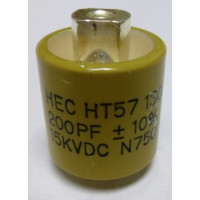 570200-15 Doorknob Capacitor,200pf 15kv HT57Y201KA 10% High Energy