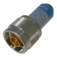 65N-50-0-11/133  Dummy Load, Type-N Male, 1 Watt, DC-6 GHz, SUHNER (NOS)
