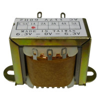 671121 Low voltage transformer, 117VAC/60cps 12.6vct, 0.5 amp, (67-1121), CES