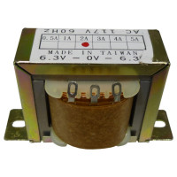 671122  Low voltage transformer, 117VAC/60cps 12.6vct, 1 amp, (67-1122) CES