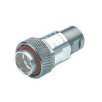 716M50V12N1  7/16 DIN Male connector for EC4-50 Cable, Eupen