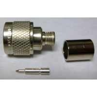 82-340-1052 Type-N Male Crimp Connector, Cable Group: I, Amphenol