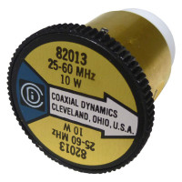 CD82013 wattmeter element, 25-60mhz 10 watt, Coaxial Dynamics