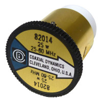 CD82014 wattmeter element, 25-60mhz 25 watt, Coaxcial Dynamics