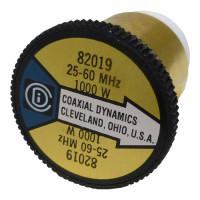 CD82019 wattmeter element 25-60 mhz, 1000 watts, Coaxial Dynamics