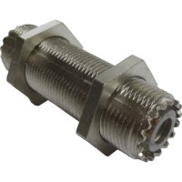 83-1F In Series Adapter, UHF Female to Female, 2 Inch, Amphenol/RF