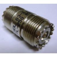 83-1J  IN Series Adapter, UHF Female to Female Barrel (SO239), PL258, Amphenol
