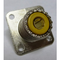 SO239-1  UHF Female Chassis Connector, SO239 (AVA20983) Amphenol (NOS)